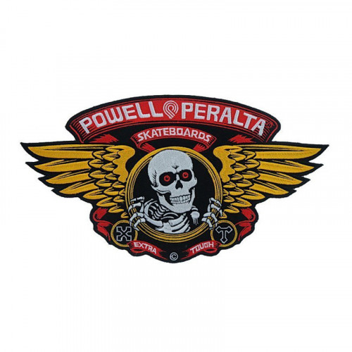 POWELL PERALTA SMALL WINGED RIPPER PATCH