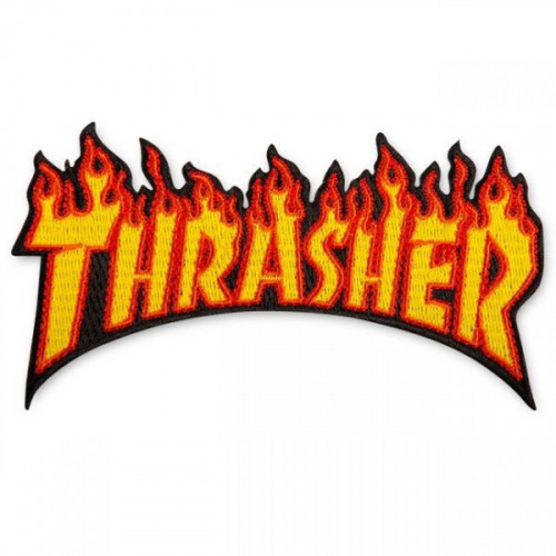 THRASHER FLAME PARCHE